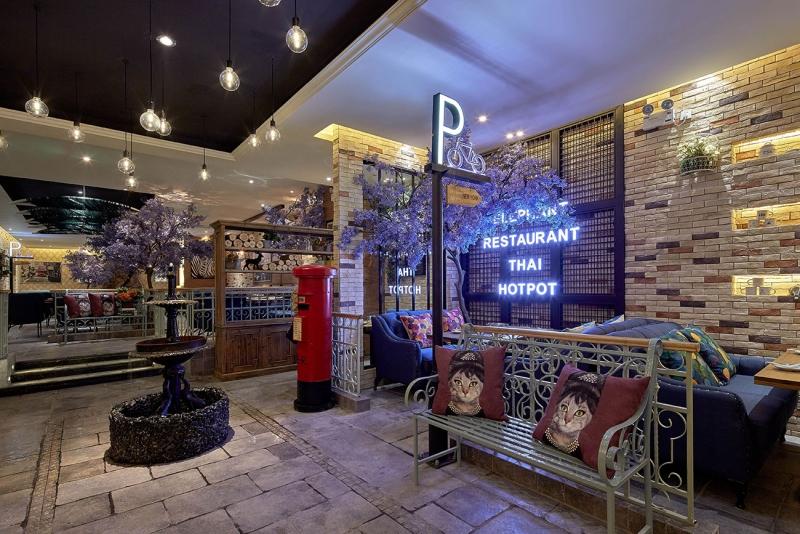 湖南餐厅装修设计